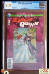HARLEY QUINN FUTURES END #1 Cover A (2014 series) - **CGC 9.9**